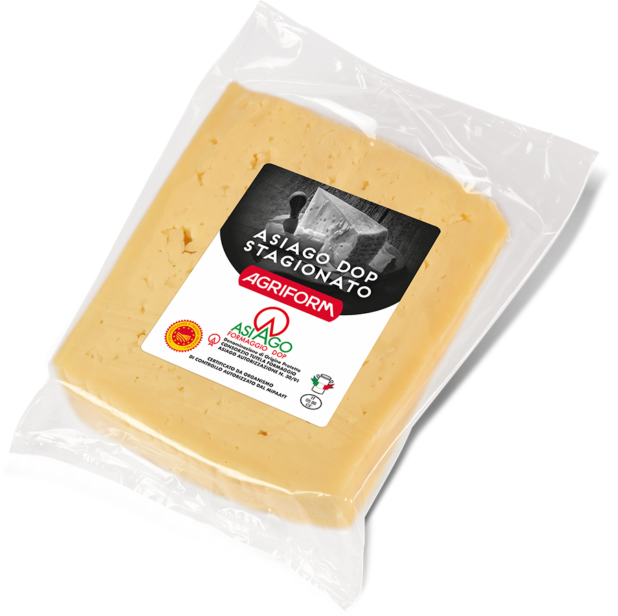 Asiago Stagionato in protected atmosphere