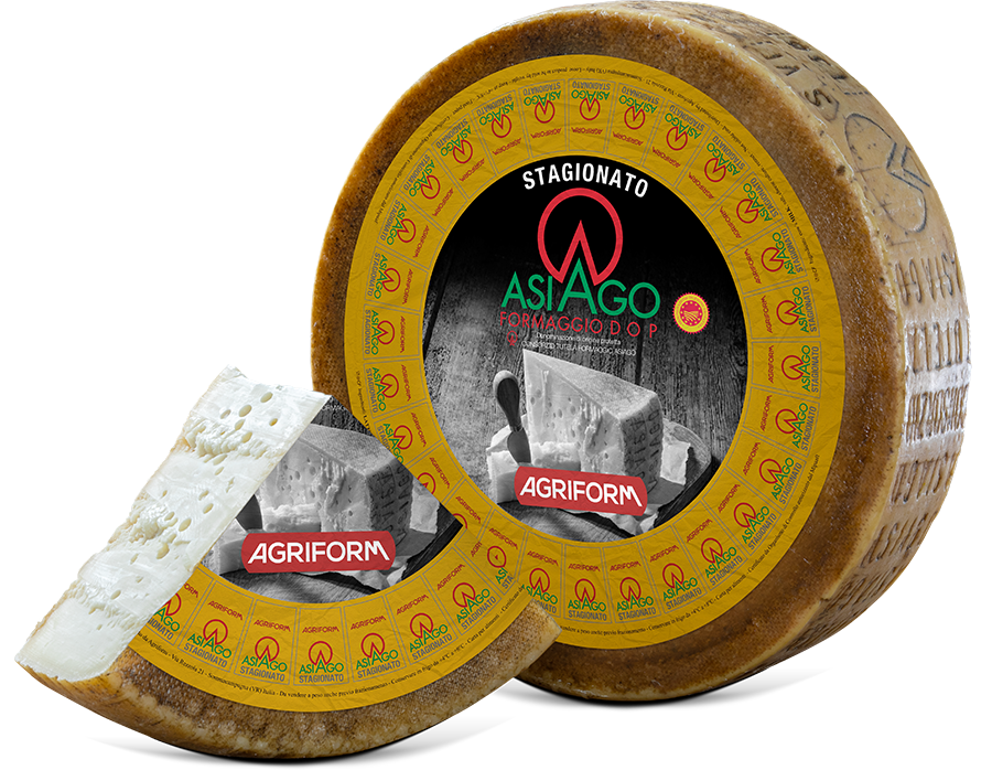 Asiago Stagionato wheels